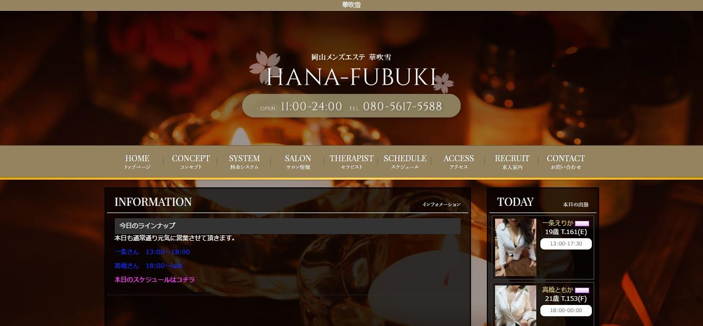 HANA-FUBUKI~華吹雪~ (ハナフブキ)